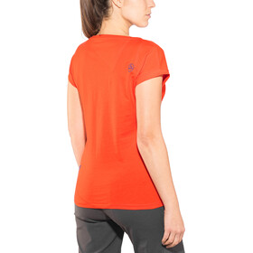 La Sportiva Chimney T-shirt Dam lily orange